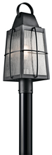 Kichler 49555BKT - Outdoor Post Mt 1Lt