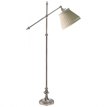 Visual Comfort CHA 9150PN-LCC - Pimlico Adjustable Floor Lamp in Polished Nickel