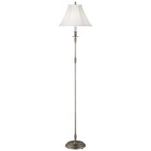 Visual Comfort S 1010AN-L - French Candlestick Floor Lamp in Antique Nickel