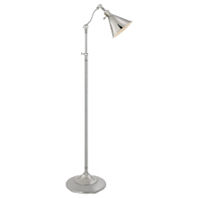 Visual Comfort SL 1900PN/SLD-PN - Boston Floor Lamp in Polished Nickel with SLD Sh