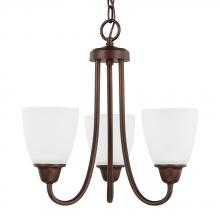 Capital 415131BZ-337 - 3 Light Chandelier