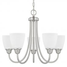 Capital 415151BN-337 - 5 Light Chandelier