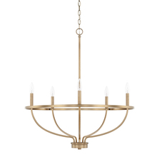 Capital 428551AD - 5 Light Chandelier