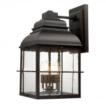 Capital 917841OB - 4 Light Wall Lantern