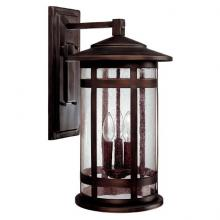 Capital 9953BB - 3 Light Outdoor Wall Fixture