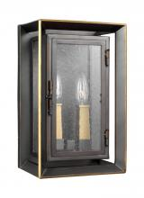 Feiss OL13801ANBZ/PBB - 2 - Light Outdoor Wall Lantern