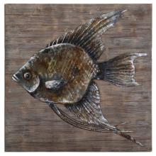 Uttermost 04273 - Uttermost Iron Fish Wall Art