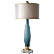 Uttermost 26582-1 - Uttermost Alaia Blue Glass Table Lamp