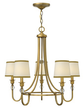 Hinkley 4875BR - Chandelier Morgan